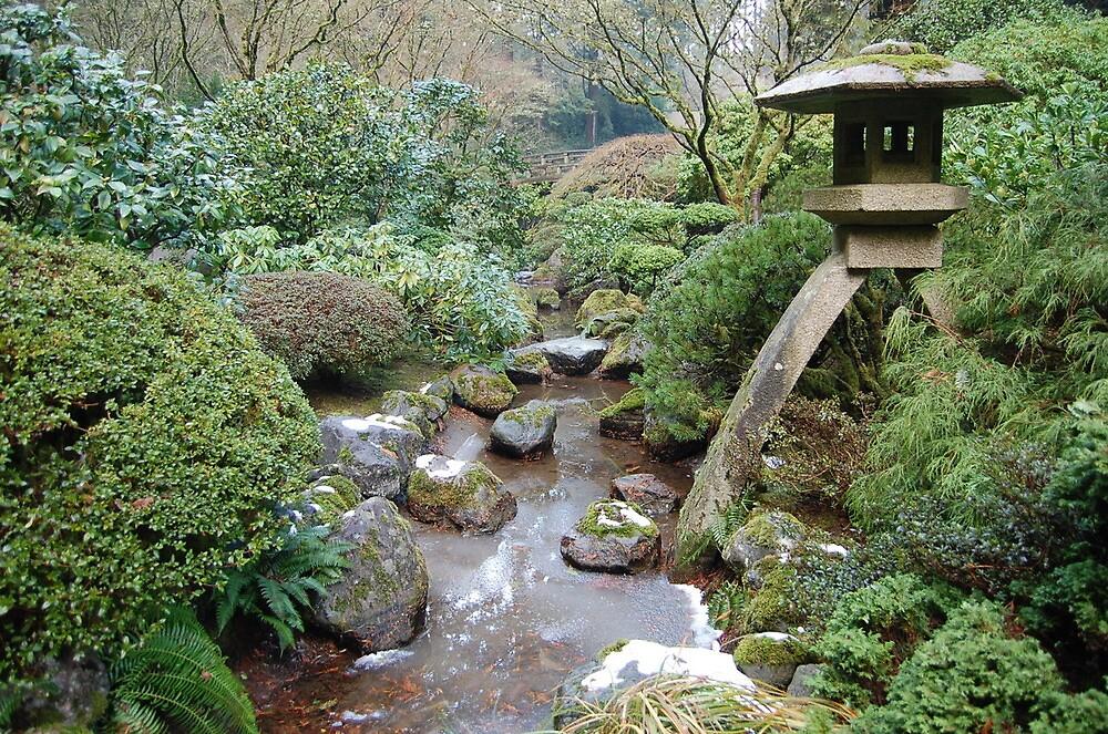 Japanese Garden by ruthbacker