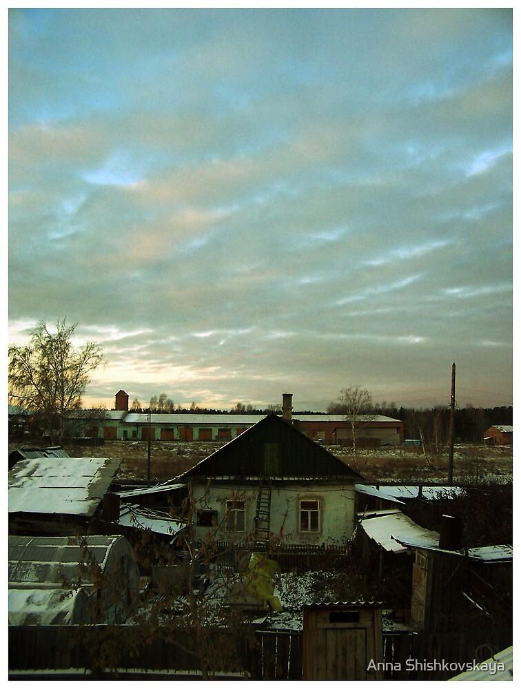 usolie`s sky by Anna Shishkovskaya