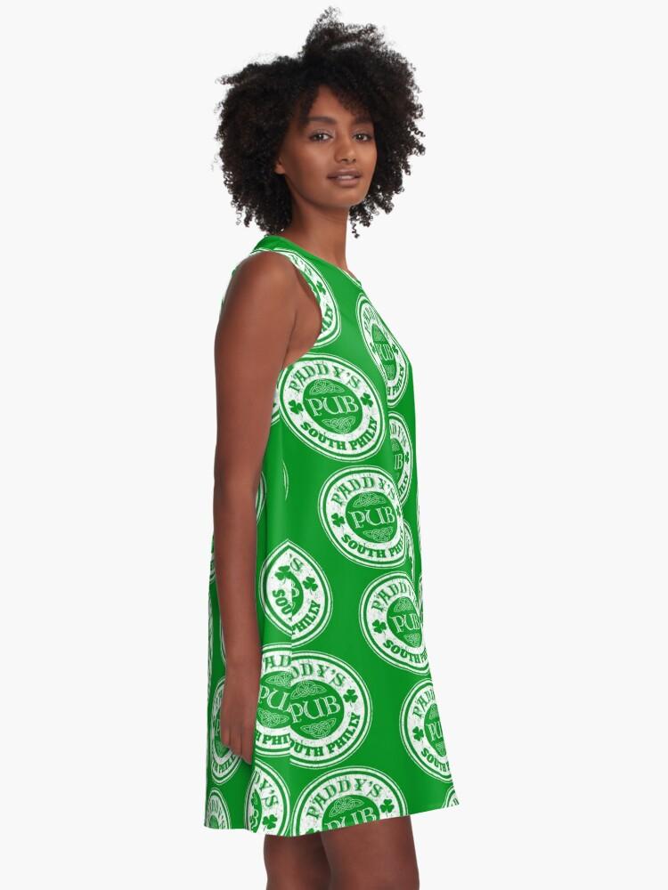 Alternative Ansicht von Paddy's Pub A-Linien Kleid