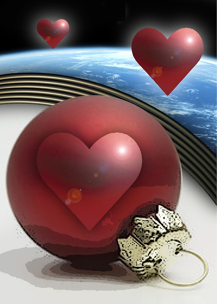 CHRISTMAS HEART by cardtricks