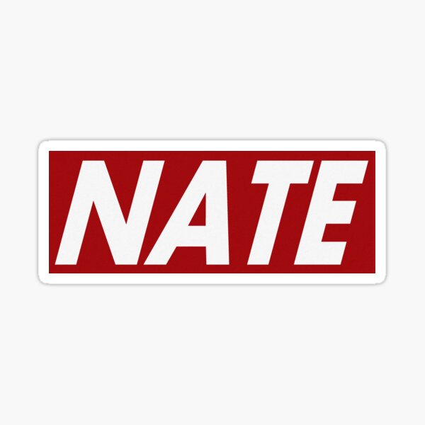 Nathan Name Stickers Redbubble