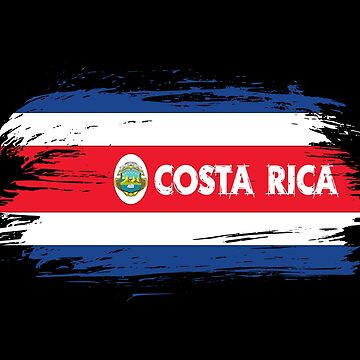 Costa Rica Flag / San Jose Gift Caribbean Central America by Rocky2018