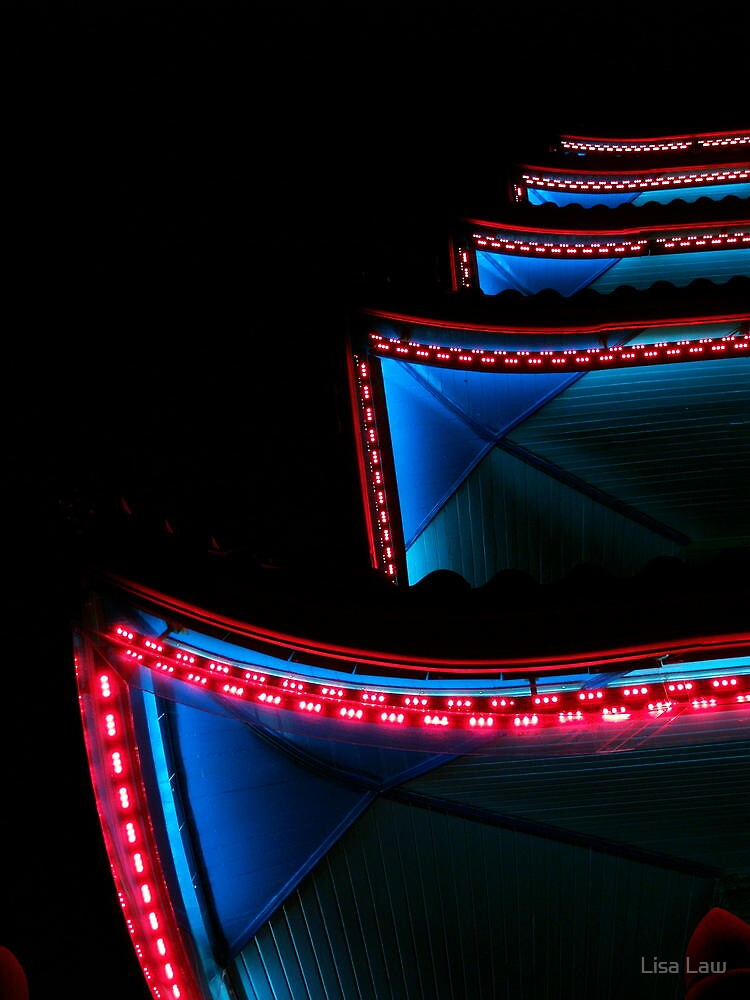 The Pagoda by Night, V by Lisa Brower