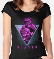 Goblin Slayer Retro 80s - Anime Shirt Fitted Scoop T-Shirt