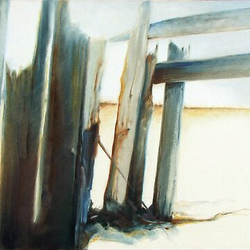 Uncommon Journey - Emotive abstract beach scene by Juantoo
