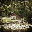 The cabin by Pike River by marchello