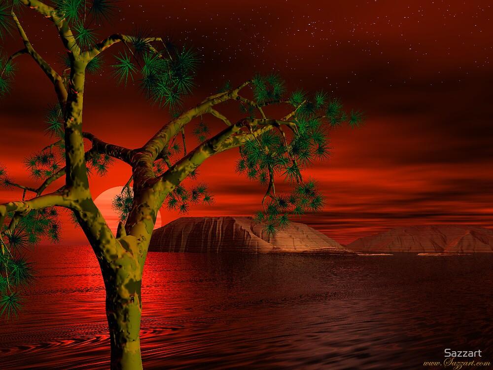 Odeessa Sunset by Sazzart