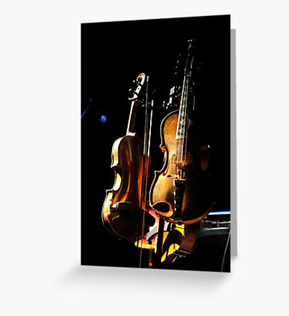 don't fear the fiddle Greeting Card