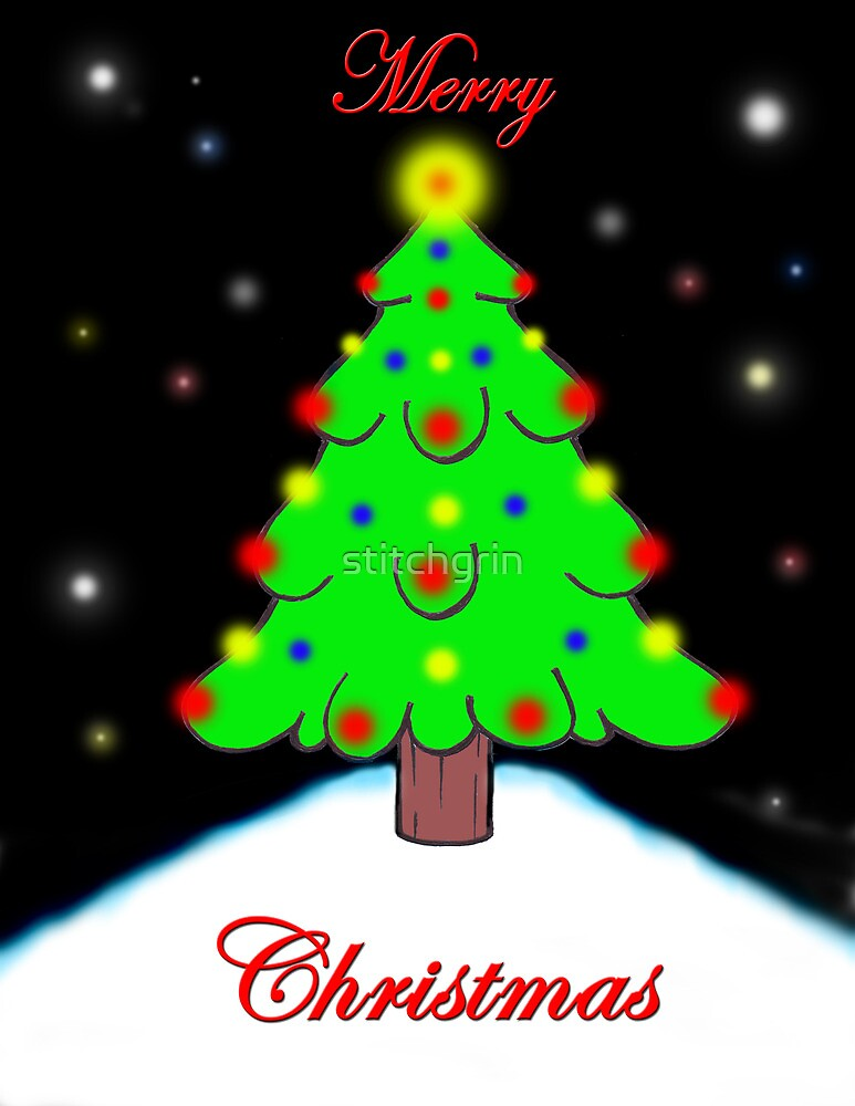 All hail the christmas tree by stitchgrin