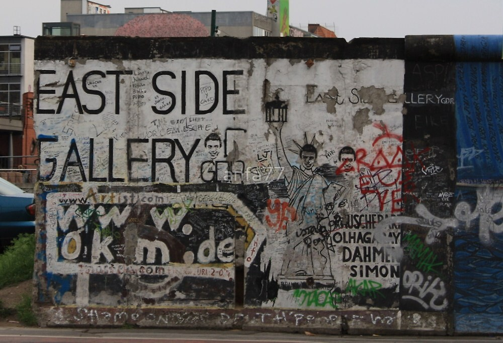 part of the berlin wall by anfa77
