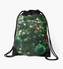 Christmas Baubles Drawstring Bag