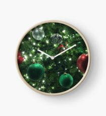 Christmas Baubles Clock