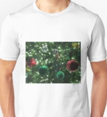 Christmas Baubles Slim Fit T-Shirt