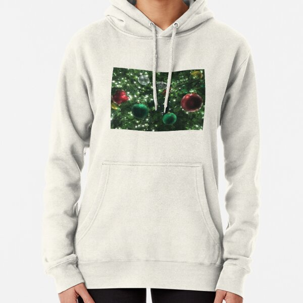 Christmas Baubles Pullover Hoodie