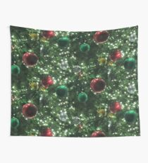 Christmas Baubles Wall Tapestry