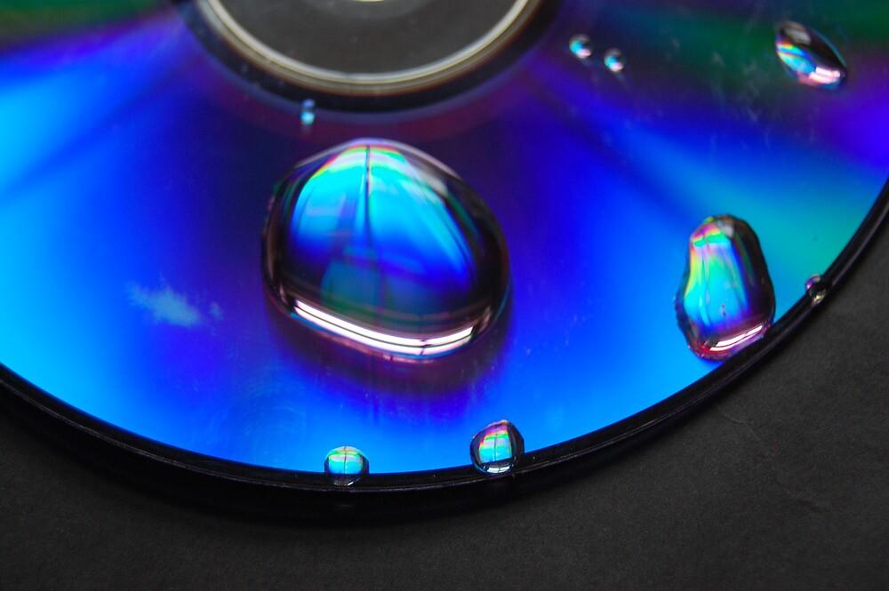 Blue reflections by Sandra Oddy