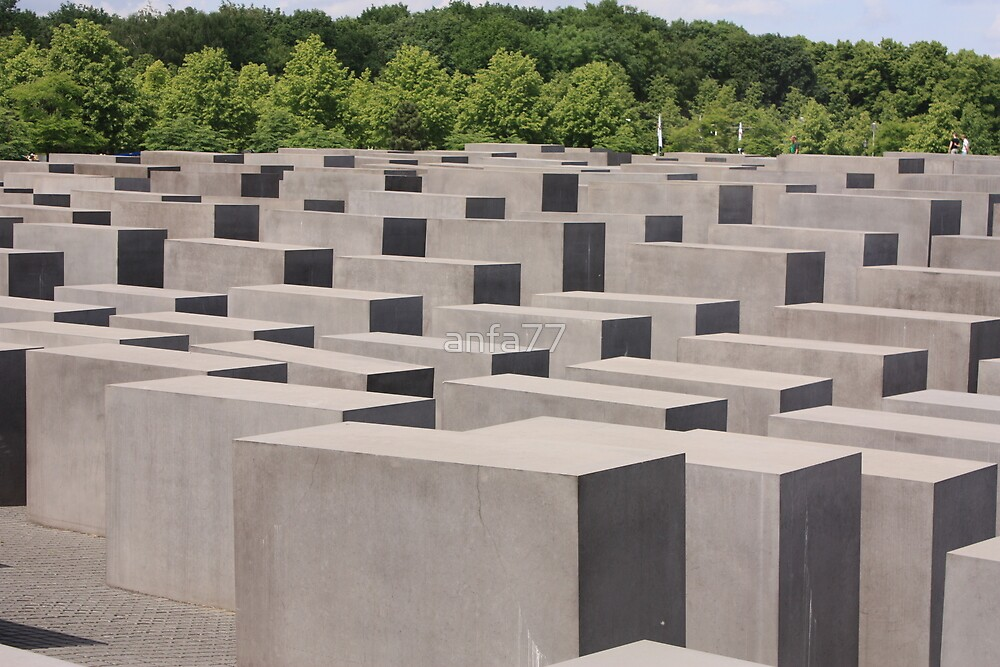 Holocaust memorial Berlin by anfa77