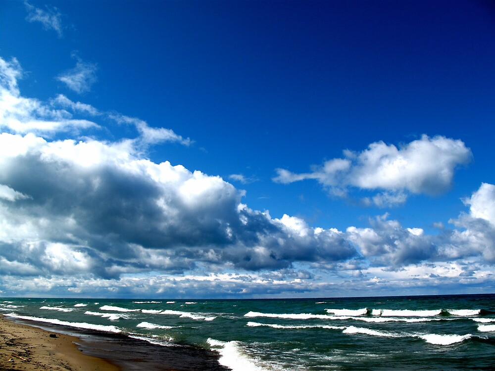 Lake Michigan # 1 by ryanjbolger