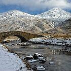 Argyll Winter Snow Scene by Mark White