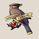 Waxwing Lyrical by KeesKiwi