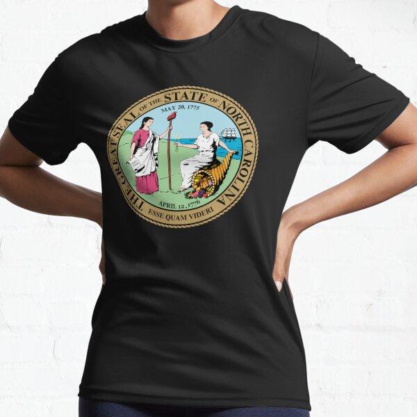 Seal of North Carolina Active T-Shirt