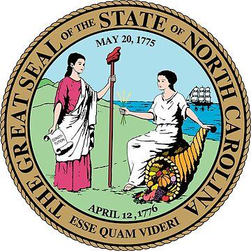 Seal of North Carolina by PZAndrews