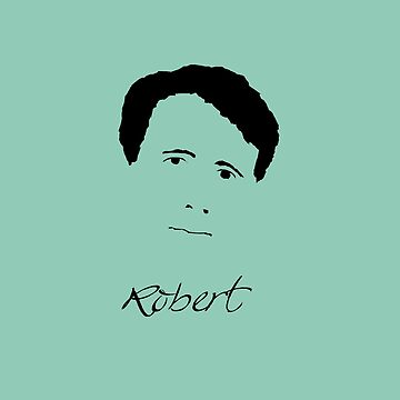 Robert Frost Poet Writer by MephobiaDesigns