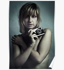 Susie with Olympus Trip Poster