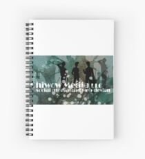Chiwow Media business logo  Spiral Notebook
