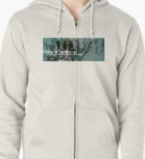 Chiwow Media business logo  Zipped Hoodie