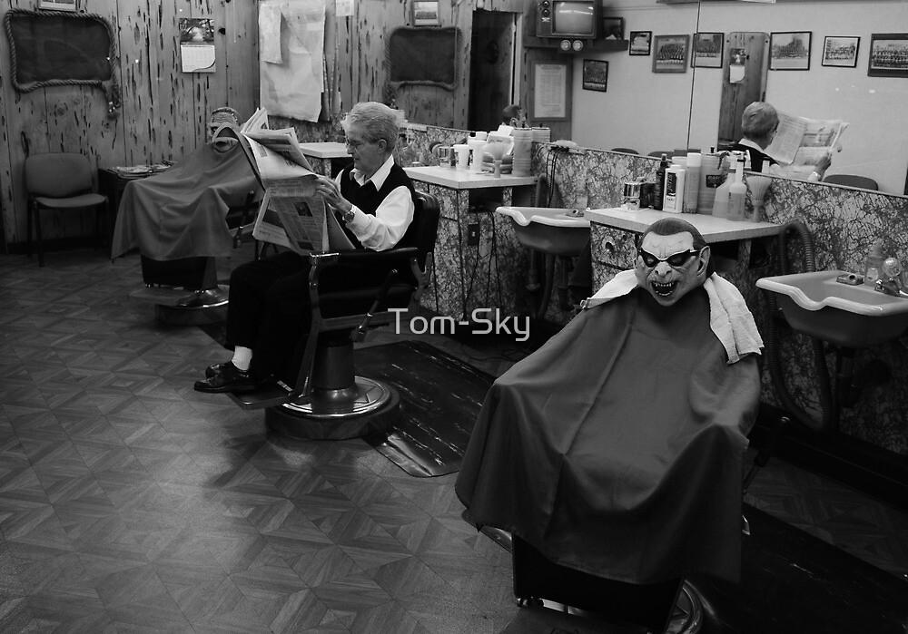 Barber Shop by Tom-Sky