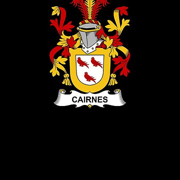 Cairnes Coat of Arms - Family Crest Shirt by FamilyCrest