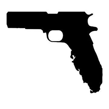 Florida Pistol  by thatstickerguy