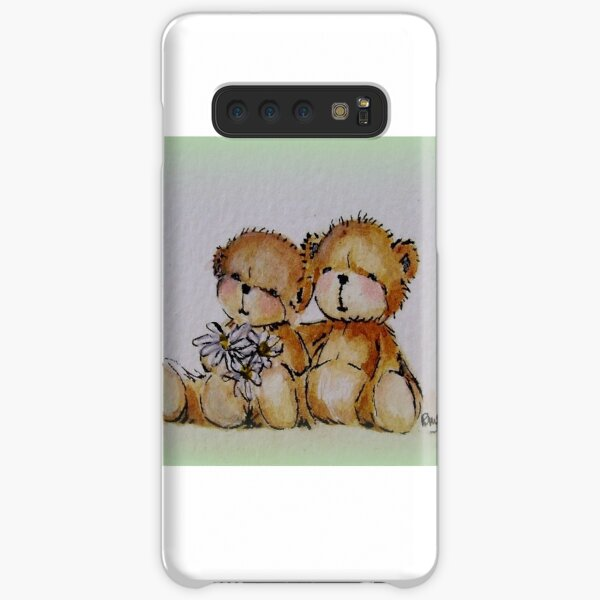 Happy Day - original watercolour painting from Teddy Bear Orphans Samsung Galaxy Snap Case