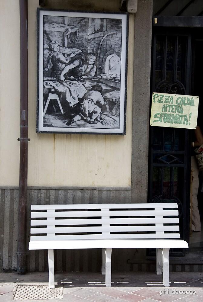 Lipari Bench by phil decocco