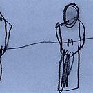 Birds on Wire 01 by ReBecca Gozion
