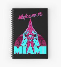 Welcome to Miami - I - Richard Spiral Notebook
