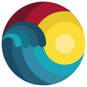 surfer ocean surfing gift wave kitesurfing by Donsanoj