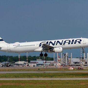 Finnair, Airbus A321-200 At Malpensa (MXP / LIMC), Milan, Italy by PhotoStock-Isra