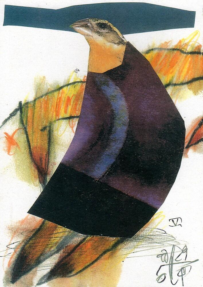 Little Bird Head 05 by ReBecca Gozion