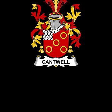 Cantwell Coat of Arms - Family Crest Shirt by FamilyCrest