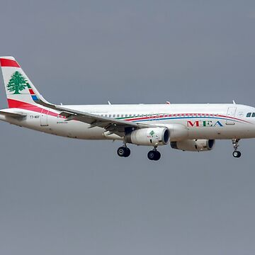 T7-MRF MEA - Middle East Airlines Airbus A320-200 at Malpensa (MXP / LIMC), Milan, Italy by PhotoStock-Isra