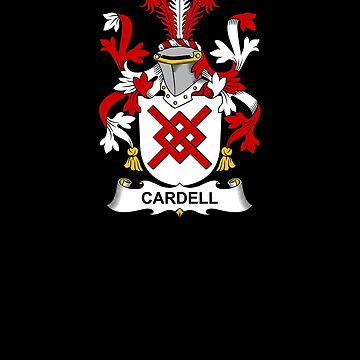 Cardell Coat of Arms - Family Crest Shirt by FamilyCrest