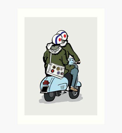 Going to A Go Go Art Print