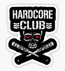 Hardcore Club Sticker