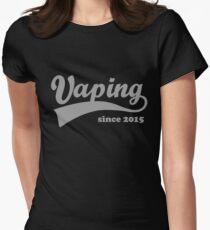 Vaping Since 2015 Women's Fitted T-Shirt