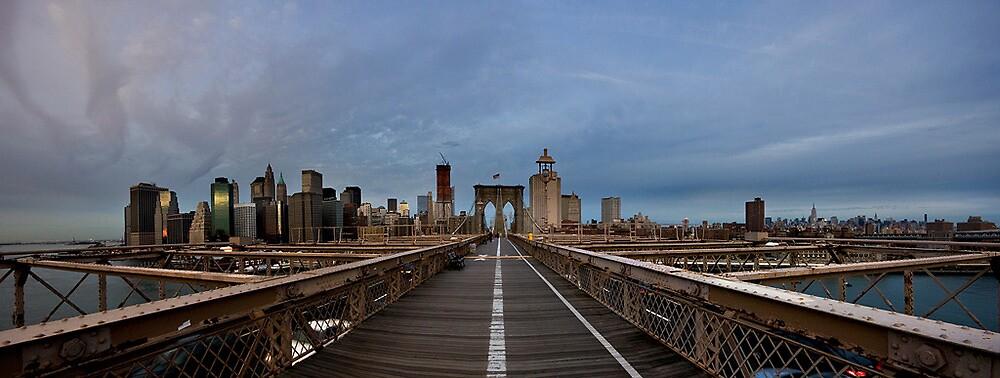 Brooklyn Bridge by CalleHoglund