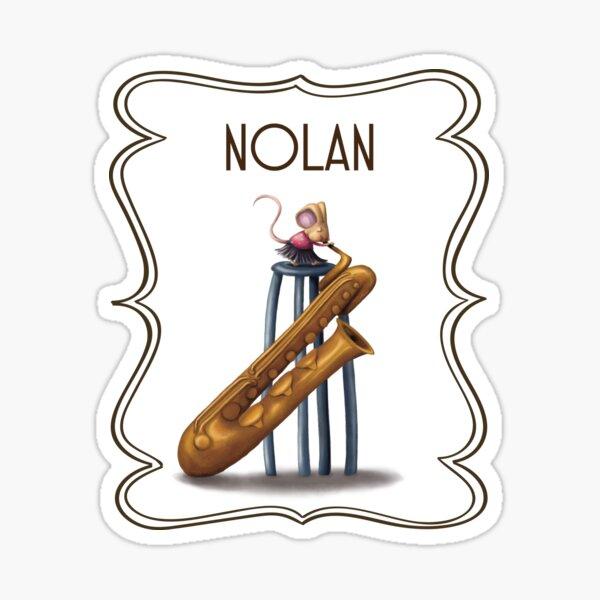 Nolan Sticker