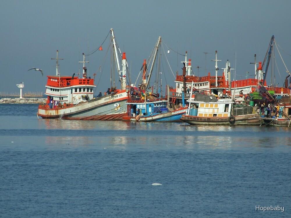 The pier Angsila. by Hopebaby