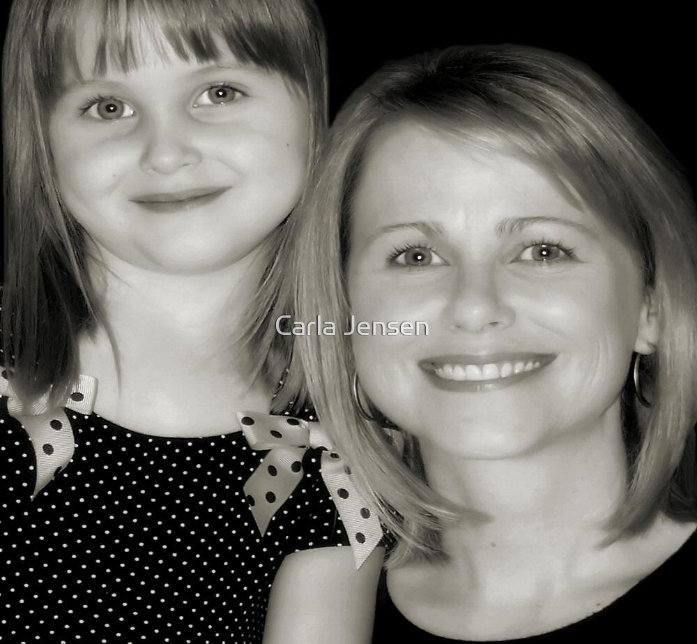 Bailey and Grandma Rachel by Carla Jensen